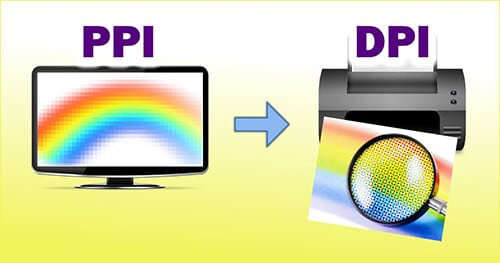 dpi with ppi