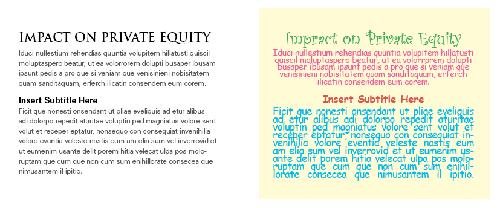 مثال دوم برای تایپوگرافی